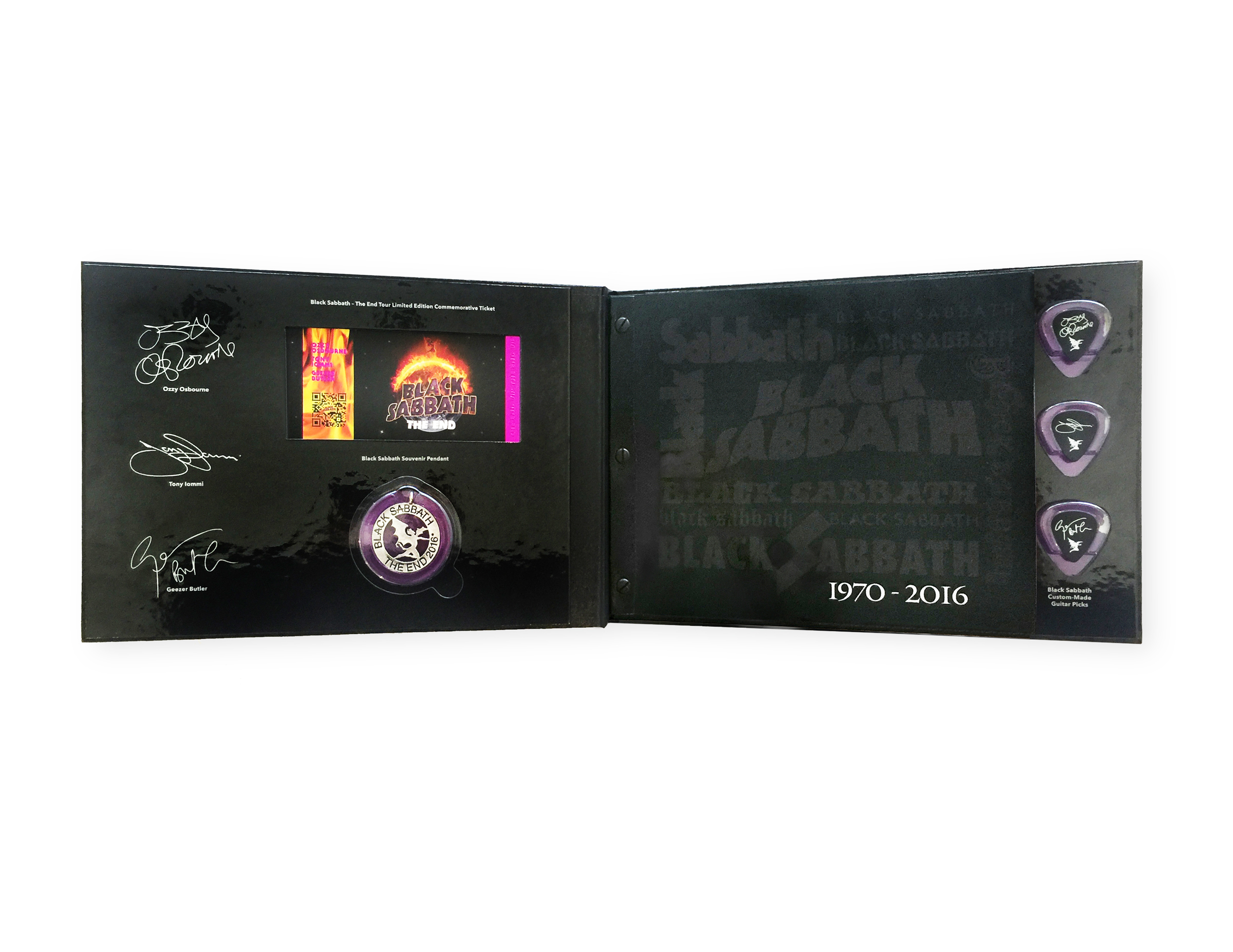 Black Sabbath VIP Book