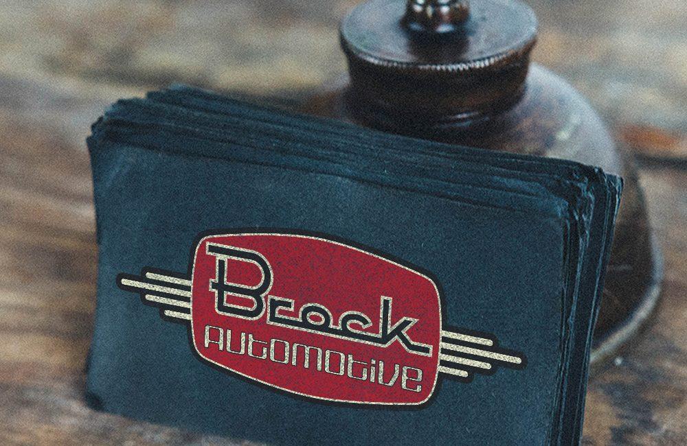 Brock Automotive business cards